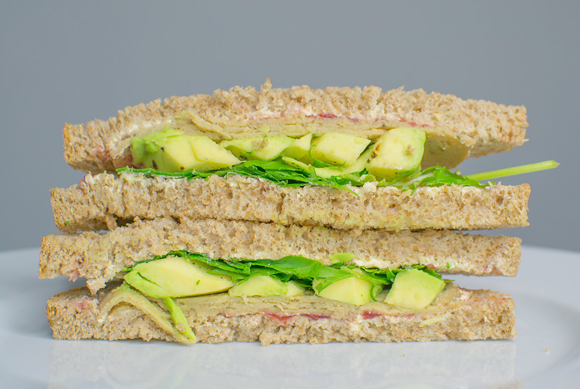 3 easy vegan sandwich fillings living on leaves