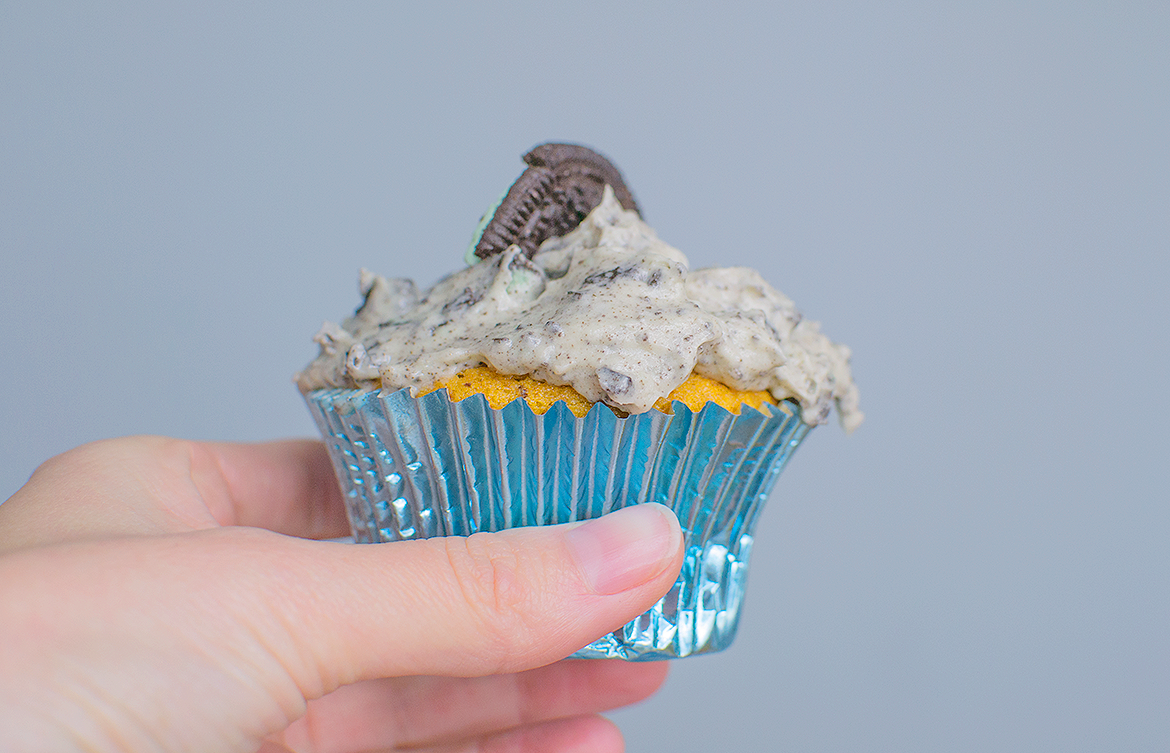 vegan mint oreo cupcake recipe