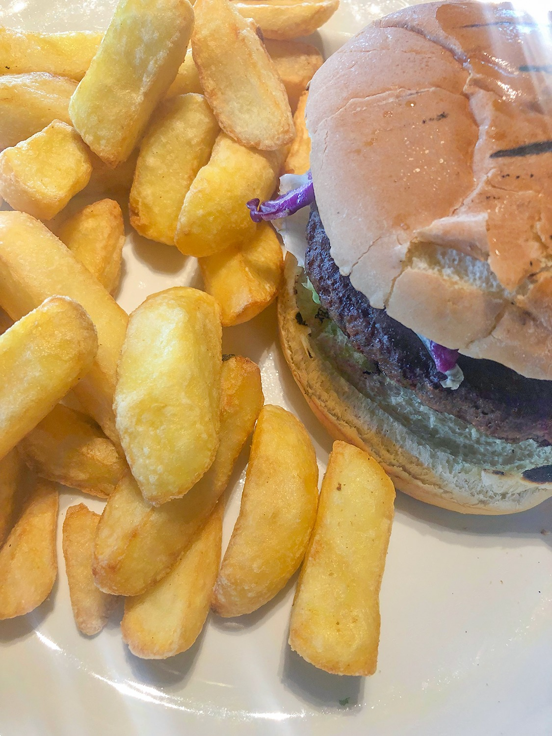 vegan burger crooked spoon restaurant alton towers